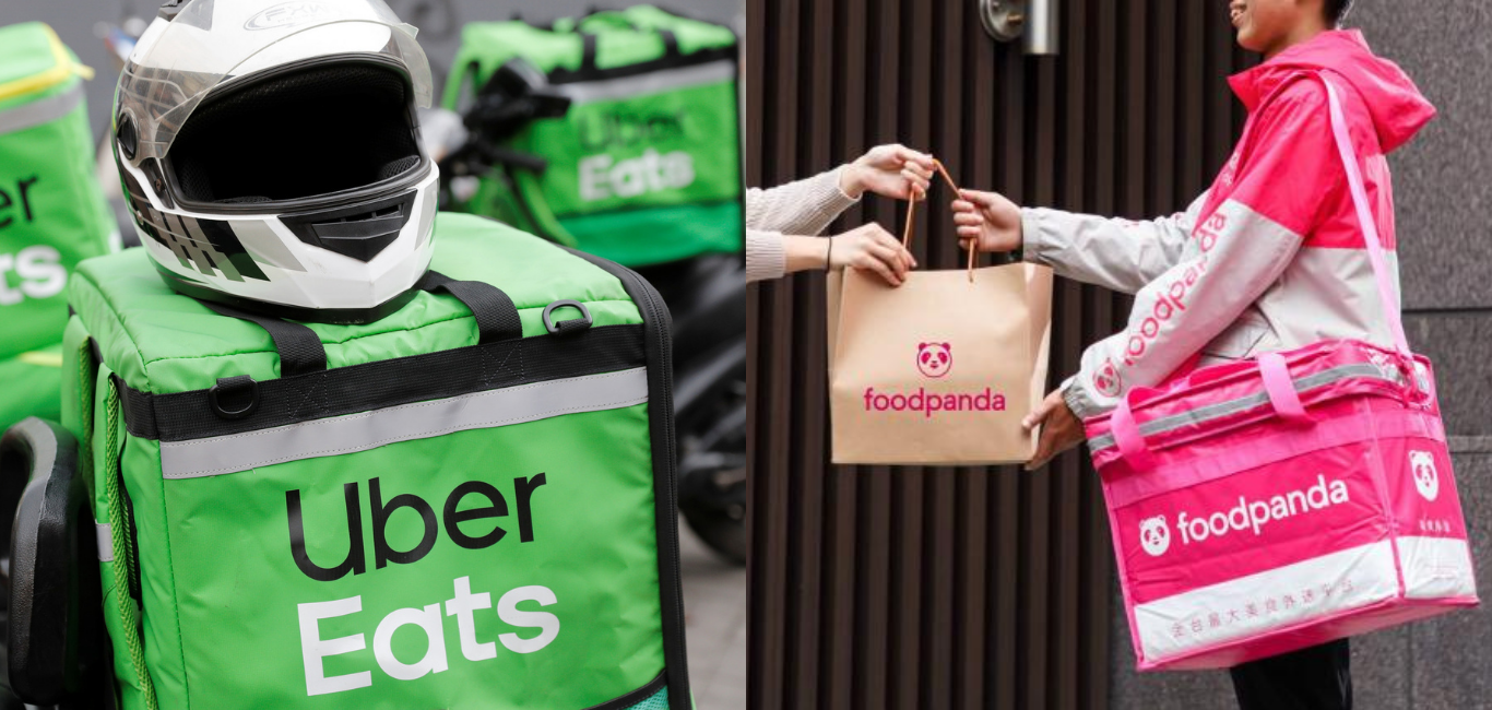外送市場白熱化 Uber Eats 和 Foodpanda 的 行銷策略